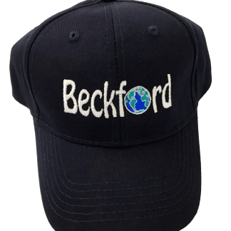 Navy Beckford Baseball Hat